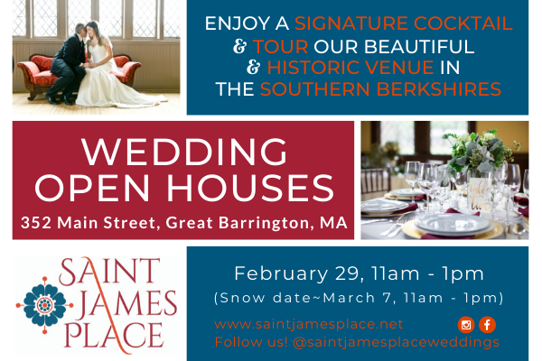 Saint James Place Wedding Open House