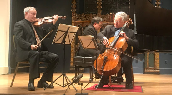 Live chamber music in the Berkshires: Close Encounters With Music at Saint James Place