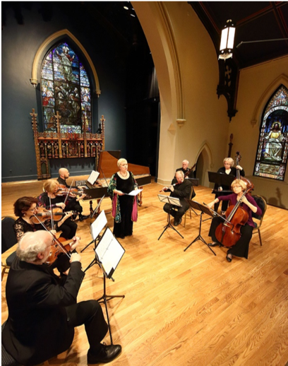 Live chamber music in the Berkshires with Aston Magna Music Festival at Saint James Place.